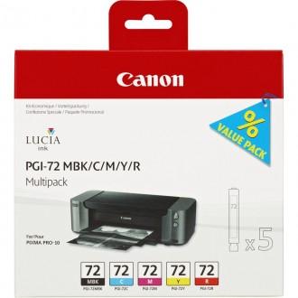 Inkout Canon PGI-72CMYKR (6402B009)