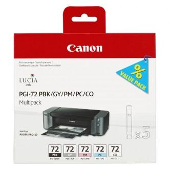 Inkout Canon PGI-72PBk/Gy/PM/PC/CO (6403B007)