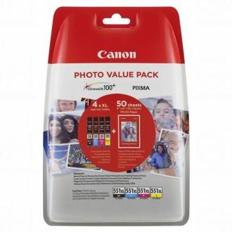 Inkout Canon CLI-551XL C/M/Y/BK (6443B006)