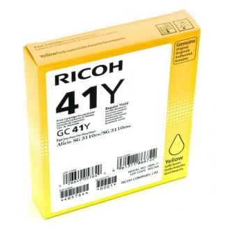 Gelová náplň Ricoh GC-41HY (405764) na 2200 stran