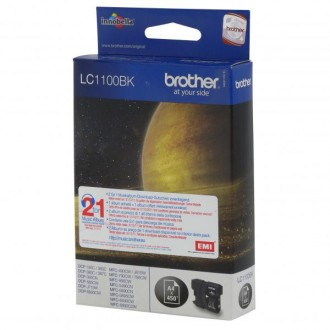 Inkout Brother LC-1100Bk na 500 stran