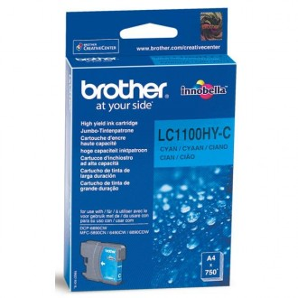 Inkout Brother LC-1100HYC na 750 stran