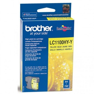 Inkout Brother LC-1100HYY na 750 stran