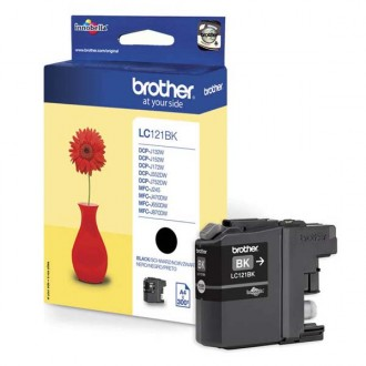 Inkout Brother LC-121Bk na 300 stran