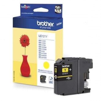 Inkout Brother LC-121Y na 300 stran