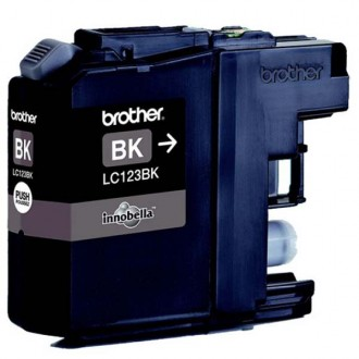 Inkout Brother LC-123Bk na 600 stran
