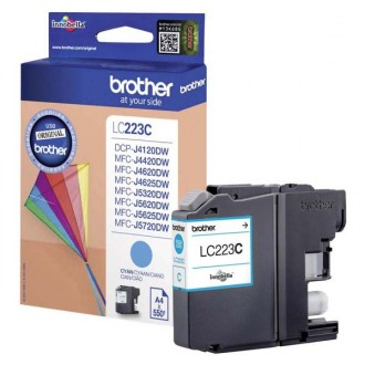 Inkout Brother LC-223C na 550 stran