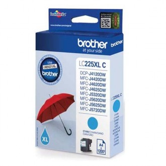 Inkout Brother LC-225XLC na 1200 stran