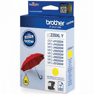 Inkout Brother LC-225XLY na 1200 stran
