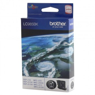 Inkout Brother LC-985Bk na 300 stran