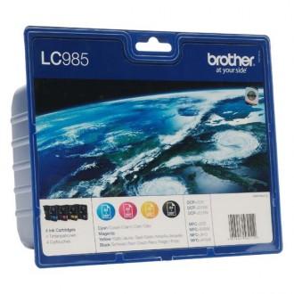 Inkout Brother LC-985VALBP na 3 × 260 + 300 stran