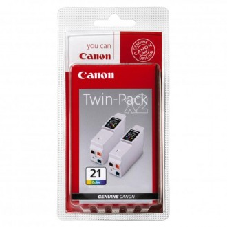 Inkout Canon BCI-21C (0955A357) na 2 × 150 stran