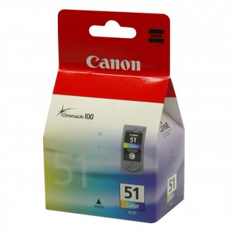 Inkout Canon CL-51 (0618B001) na 545 stran