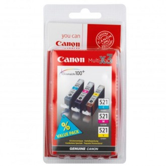 Inkout Canon CLI-521CMY (2934B010)