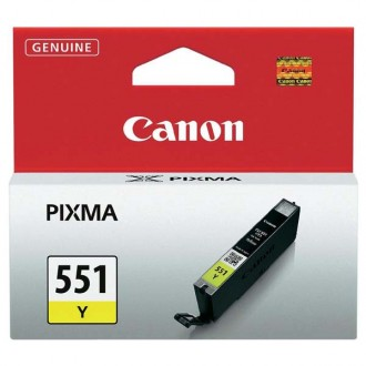 Inkout Canon CLI-551Y (6511B001)