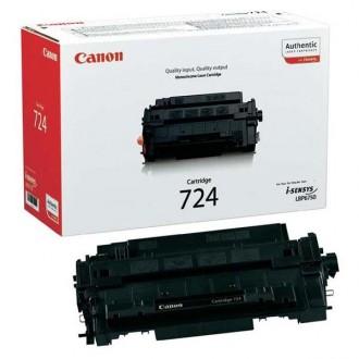 Toner Canon CRG-724Bk (3481B002) na 6000 stran