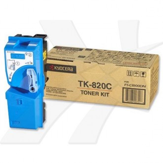 Toner Kyocera TK-820C na 7000 stran