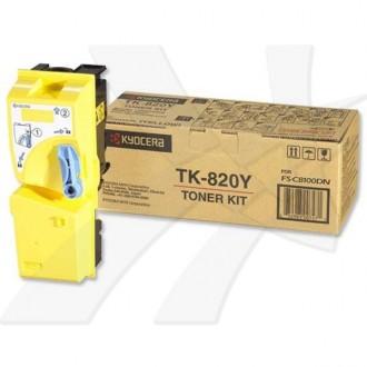 Toner Kyocera TK-820Y na 7000 stran